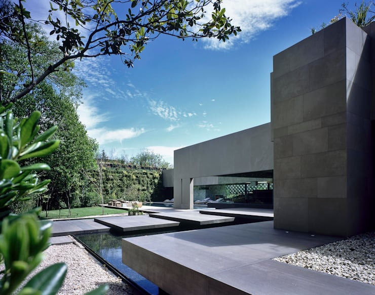 Casa Reforma:  de estilo  por Central de Arquitectura