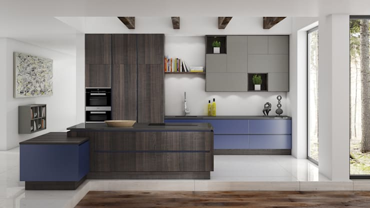 modern Kitchen by Deseo