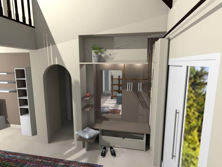 Maison à Illkirch: Maisons de style  par Denitsa Hristova