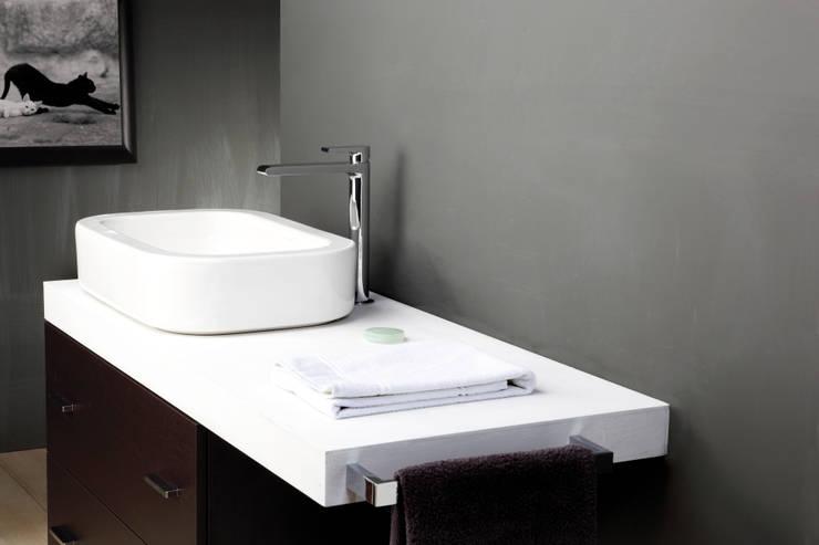 Bonomi  Bonny - Miscelatore lavabo monoforo alto: Bagno in stile  di Bonomi Contemporaneo Italiano