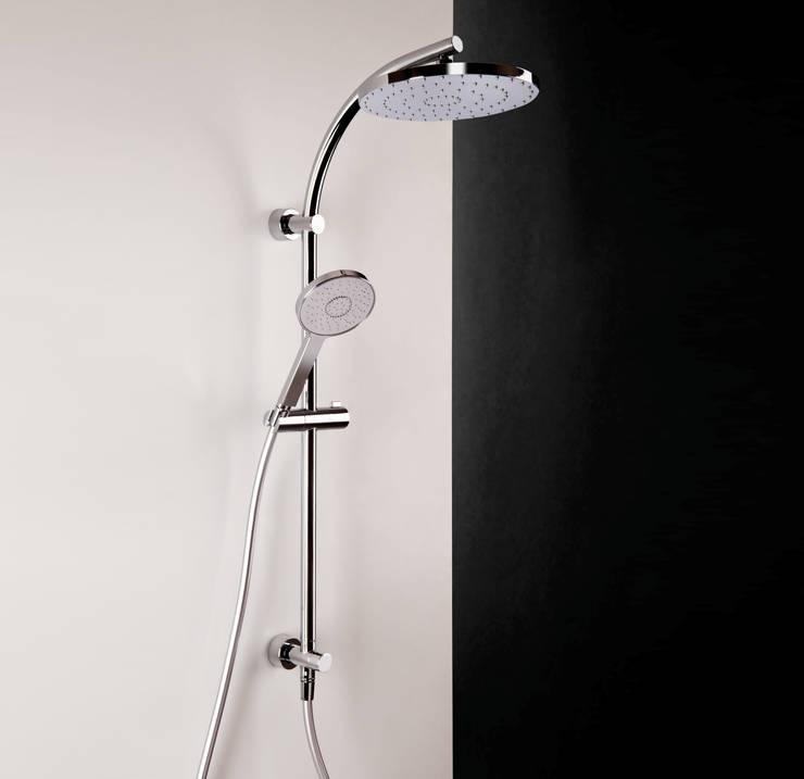 Bonomi Bonny - Colonna doccia con deviatore e erogatore tondo : Bagno in stile  di Bonomi Contemporaneo Italiano