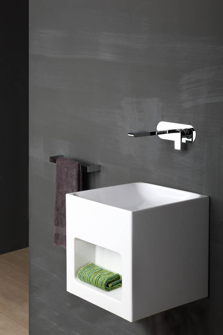 Bonomi Bonny - Miscelatore lavabo da incasso a parete : Bagno in stile  di Bonomi Contemporaneo Italiano
