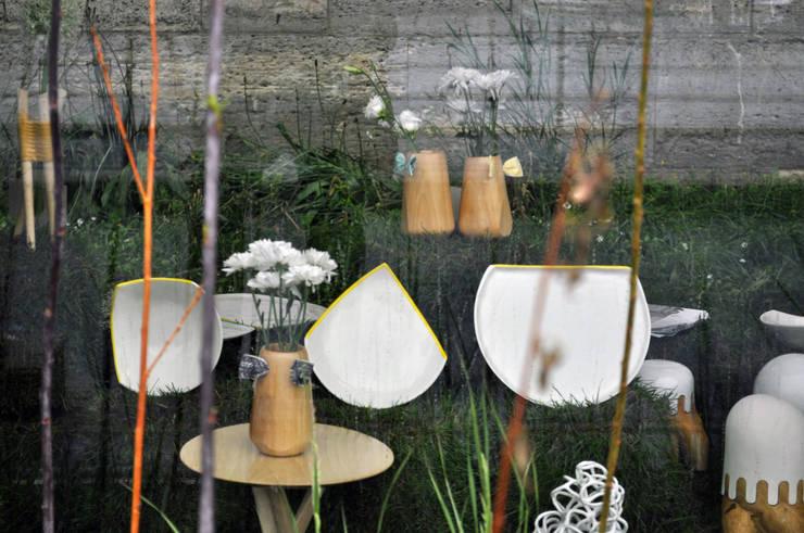 Assiettes ANGLE: Salle à manger de style de style Minimaliste par Benjamin Rousse Design