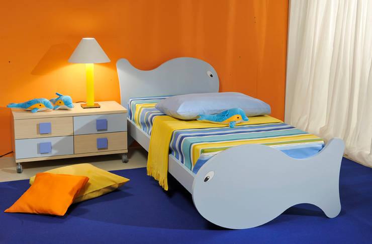 Sweet Night: Stanza dei bambini in stile in stile Eclettico di AGUZZI DESIGN STUDIO