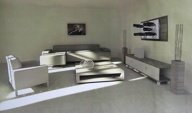 Portabottiglie in alluminio Esigo 6: Soggiorno in stile  di Esigo SRL,