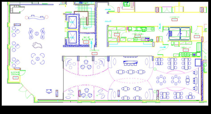 Khách sạn by Deepaakula Design