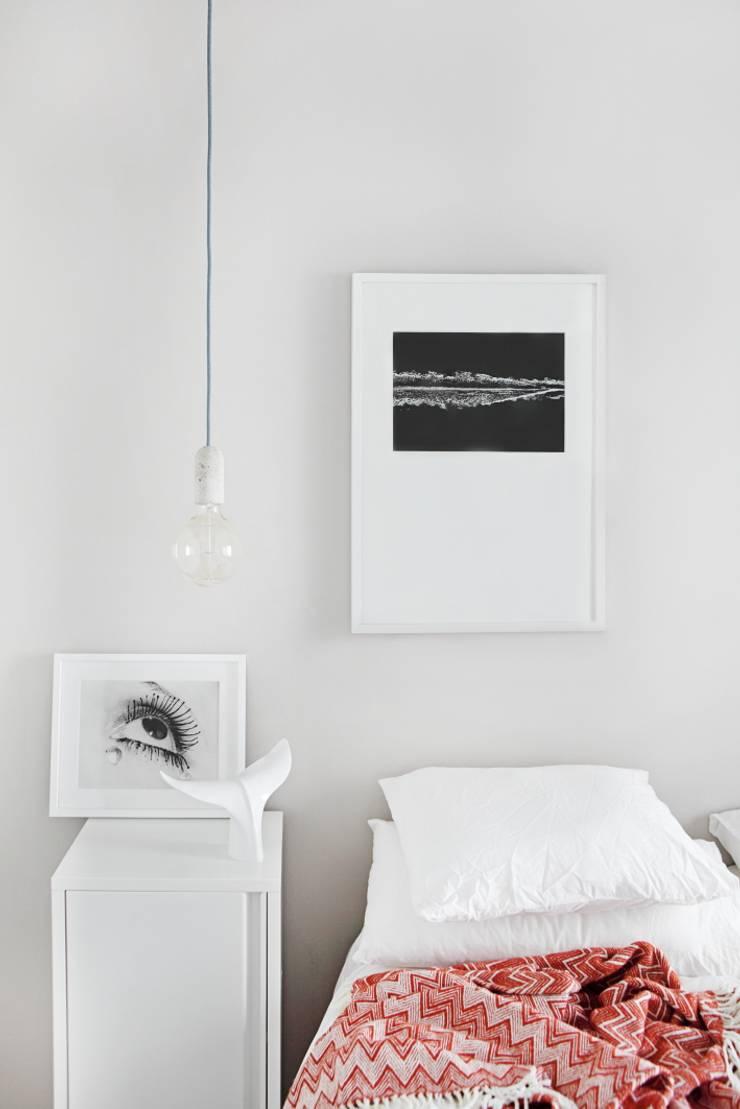 Dormitorio: Dormitorios de estilo  de Sucursal urbana universo Sostenible