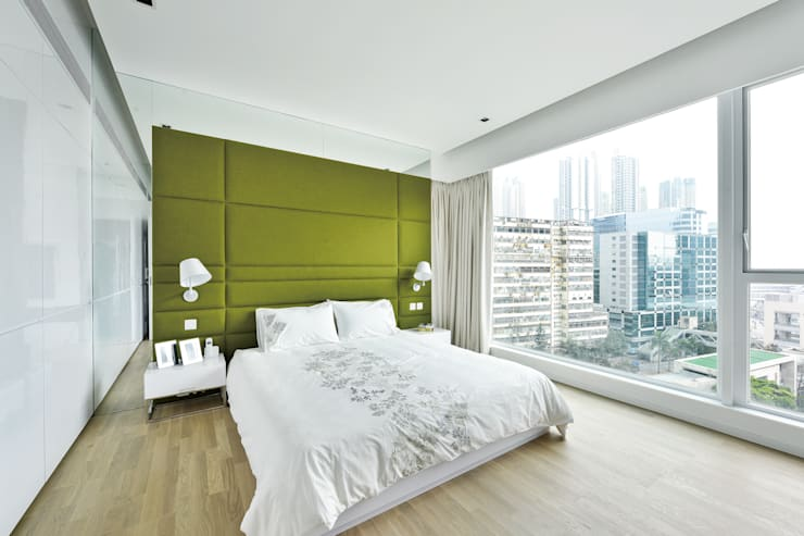 Harbour Green:   by Millimeter Interior Design Limited
