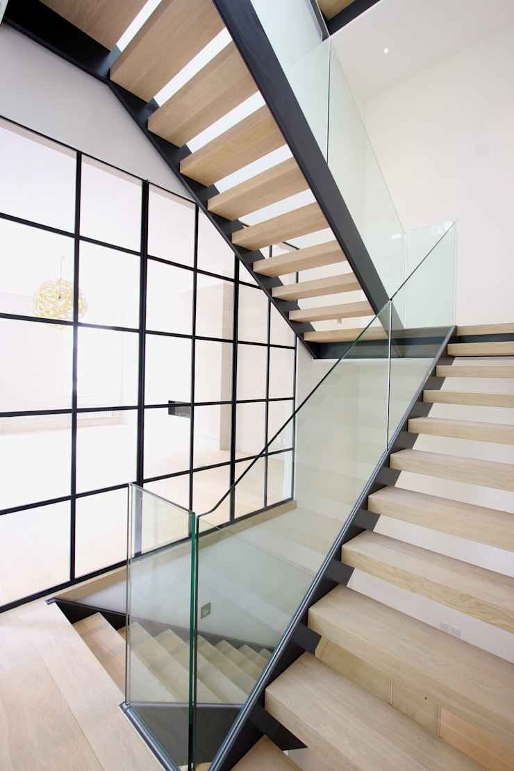 Edis Street:  Corridor & hallway by IQ Glass UK