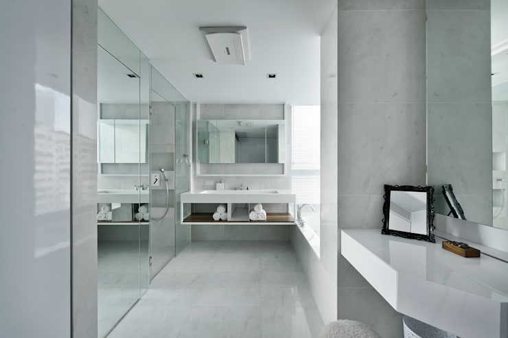Harbour Green:  Bathroom by Millimeter Interior Design Limited