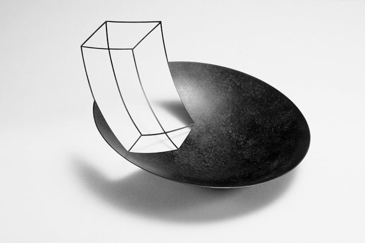 'Negative Bowl':  Artwork by Ane Christensen