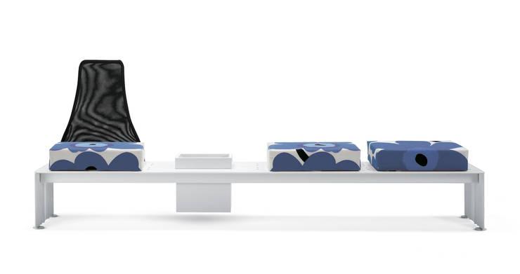 SIT-IN: Balcone, Veranda & Terrazzo in stile  di ALL PLUS