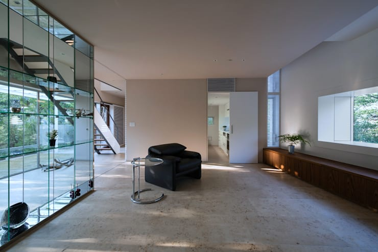 moderne Wohnzimmer von Yaita and Associaes