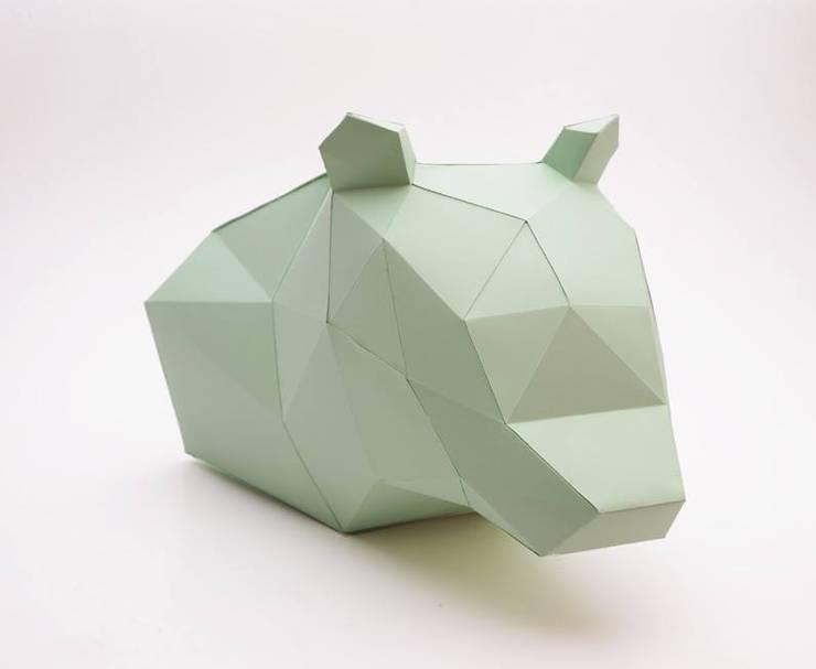Cardboard animals: Escritório e loja  por Maria Bruno Neo   Product Designer