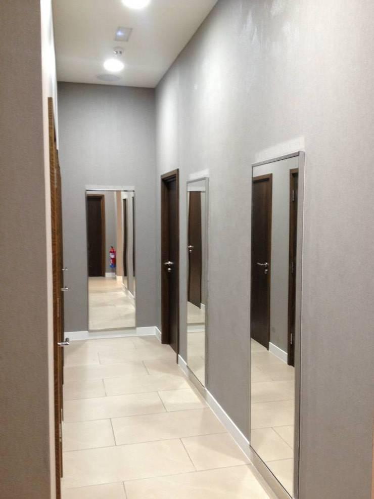 Revestimiento, Papel pintado Centros comerciales de estilo moderno de Pinturas oliváN Moderno