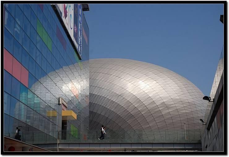 Poly Theatre:   by atelier blur / georges hung architecte d.p.l.g.