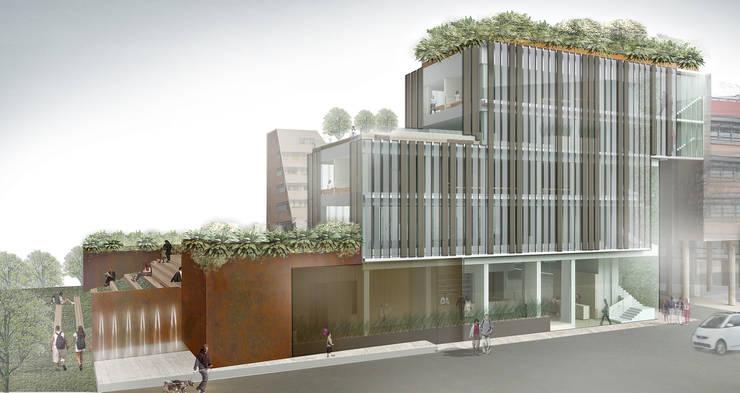 Concorso di idee per la progettazione di edificio polifunzionale con annesso parcheggio ad uso pubblico e privato. II fase:  in stile  di beatrice pierallini