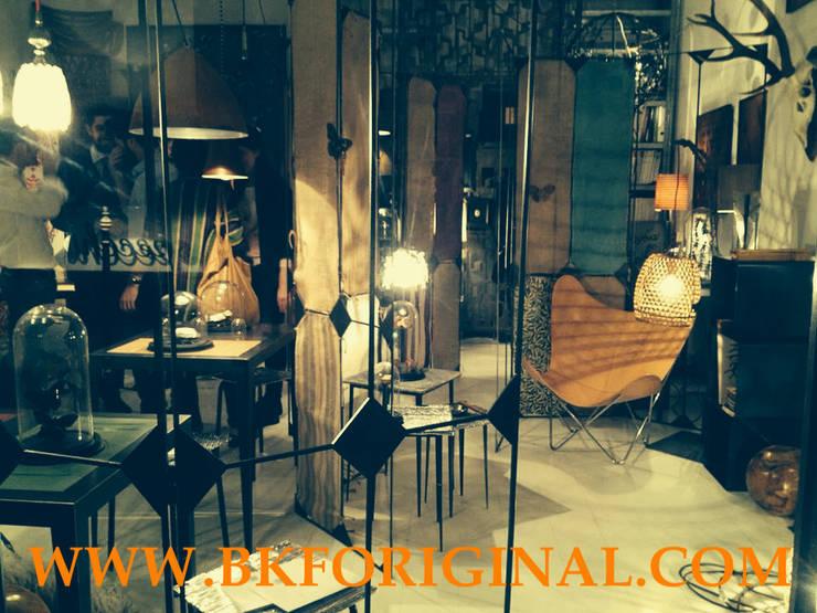 Via Giannone: Negozi & Locali Commerciali in stile  di BKF Original