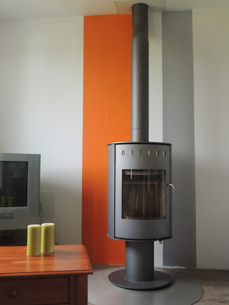 Home staging d'une maison individuelle 76:  de style  par Clémence Jeanjan Décoratrice d'intérieur