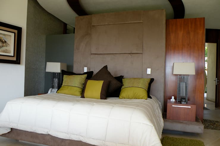 Tapicería de cama de Arquiindeco Moderno