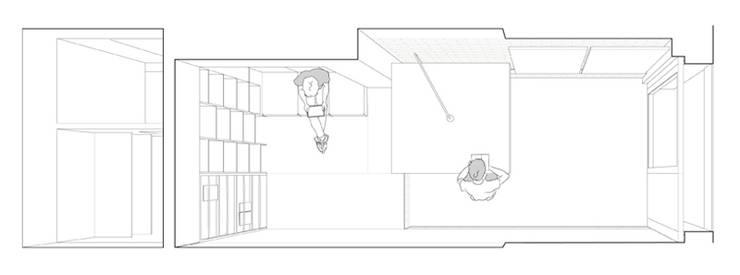 Ruang Kerja oleh vora, Modern