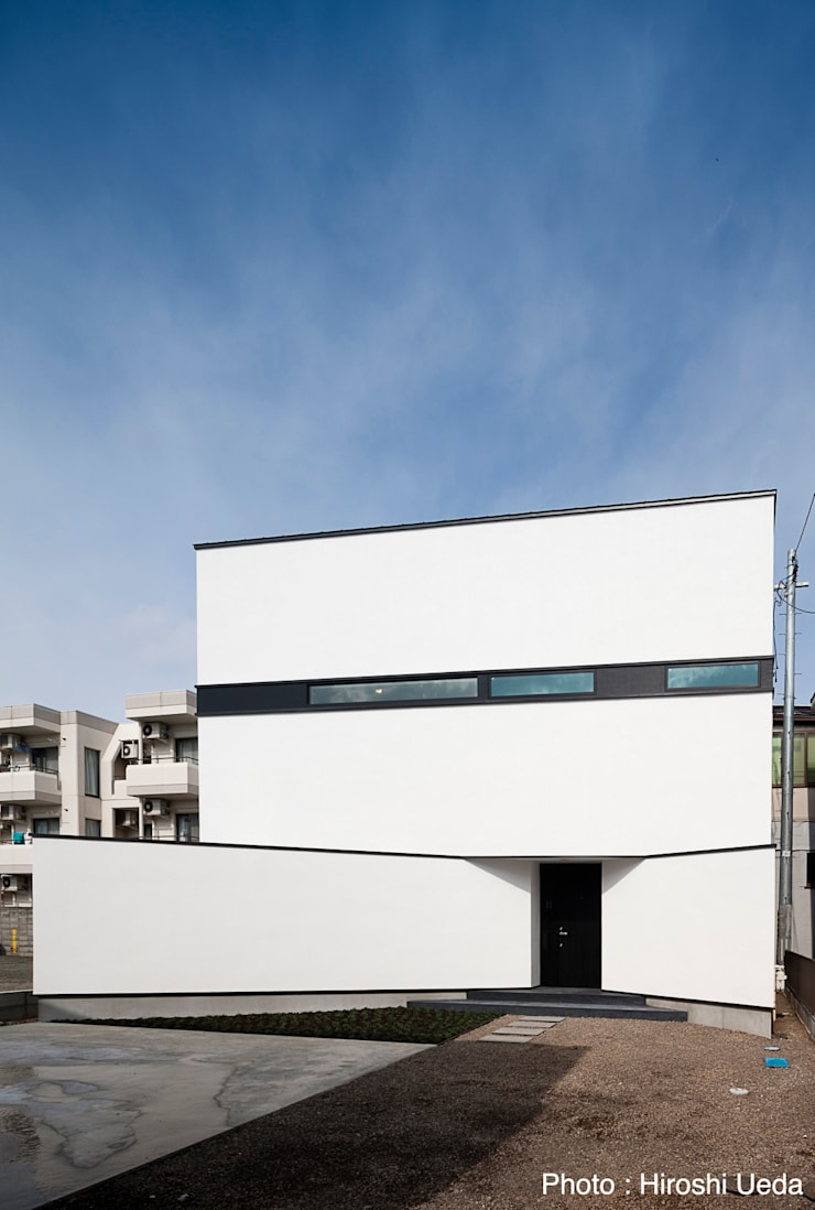 Casas de estilo  por 石川淳建築設計事務所