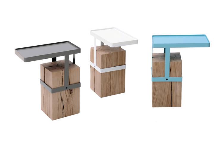 Bout de canapé TANDEM / Roche Bobois:  de style  par Fred Rieffel Studio