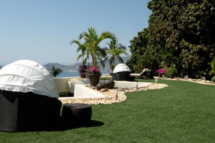 Jardins modernos por Arquiindeco