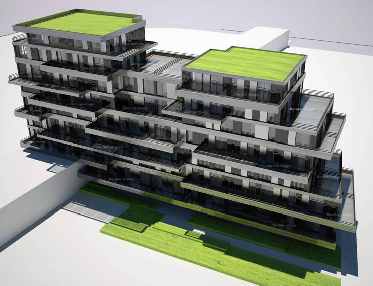 Zac De La Marine : Maison de style  par Christophe Rousselle Achitecte Urbaniste