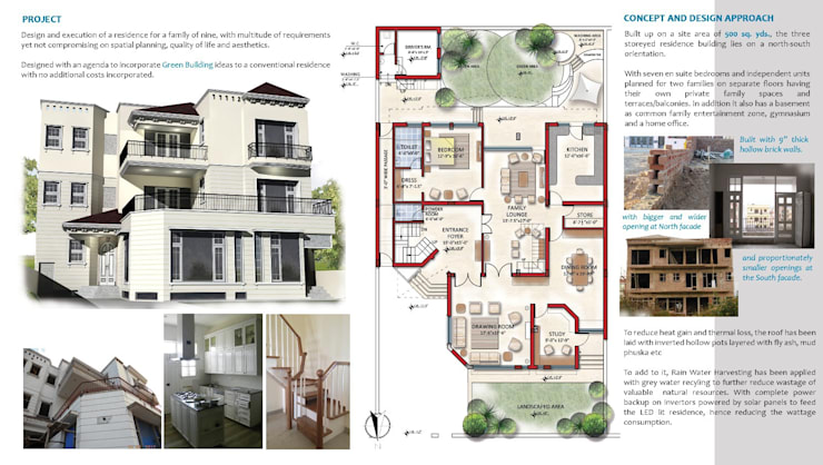 A Green-Building initiative: colonial Houses by Architect Suri and Associates