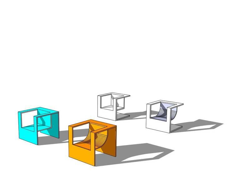 SILLAS: Oficinas y tiendas de estilo  de SANTIAGO PÉREZ ÁLVAREZ
