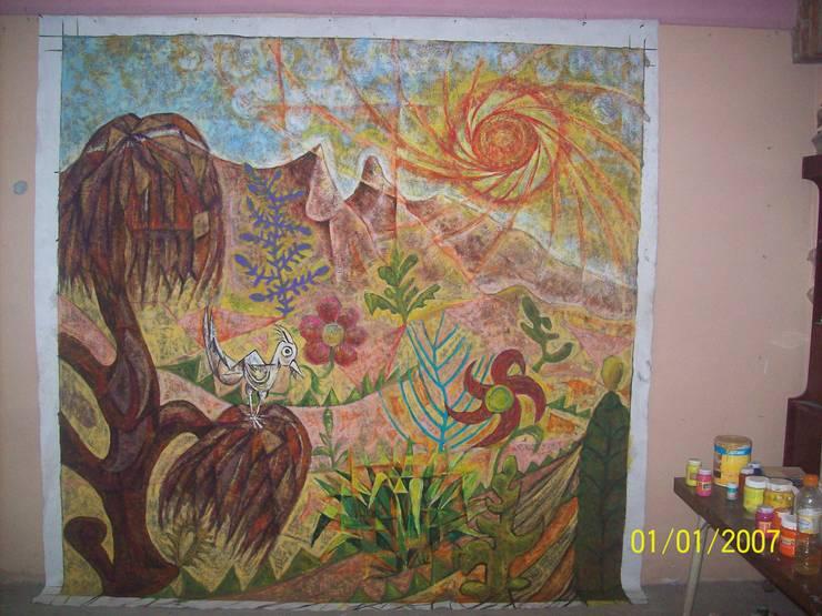Pintura decorativa:  de estilo  por JESUS RODRIGUEZ SADOVAL