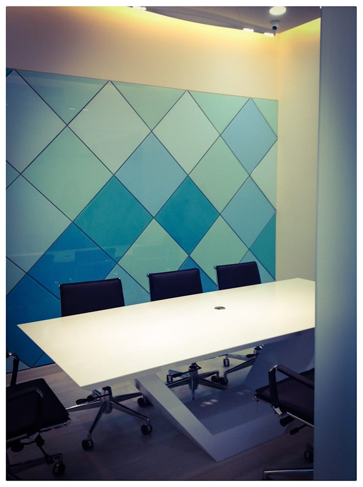 conference area:  Study/office by Design Ecovation