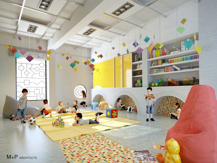 Kindergarten school in Baner:   by M+P