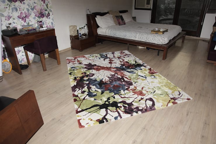HMW 1008 TC - Hand Tufted Rug:  Bedroom by WORLD OF DESIGNS