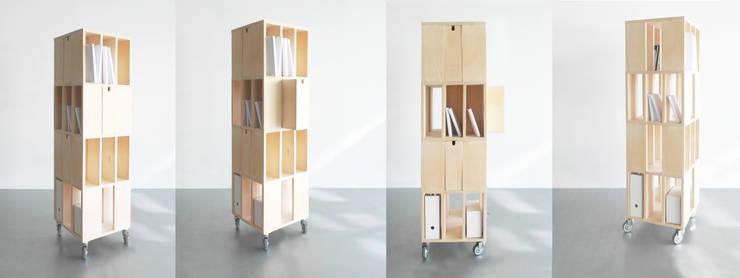 Building: Salon de style de style Moderne par Atelier Design Valerie Windeck