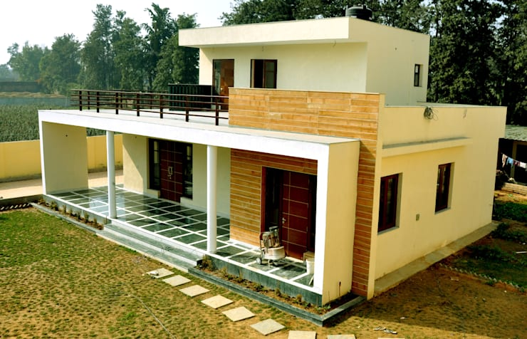 Chattarpur  Farm House  -  Mehrauli  Delhi (Completed February 2013):   by Horizon Design Studio Pvt Ltd
