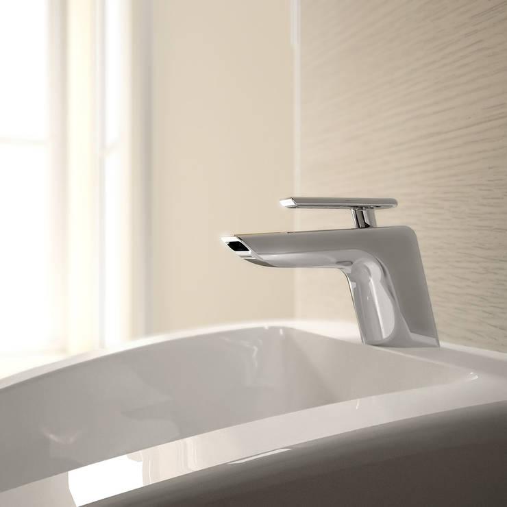 lavabo a cascata _ serie Code: Casa in stile  di Teorema Rubinetterie,