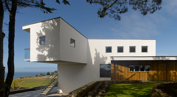 Jersey House :  Houses by Hudson Architects
