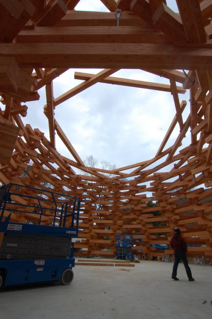 ネットの森: TEZUKA ARCHITECTSが手掛けたイベント会場です。