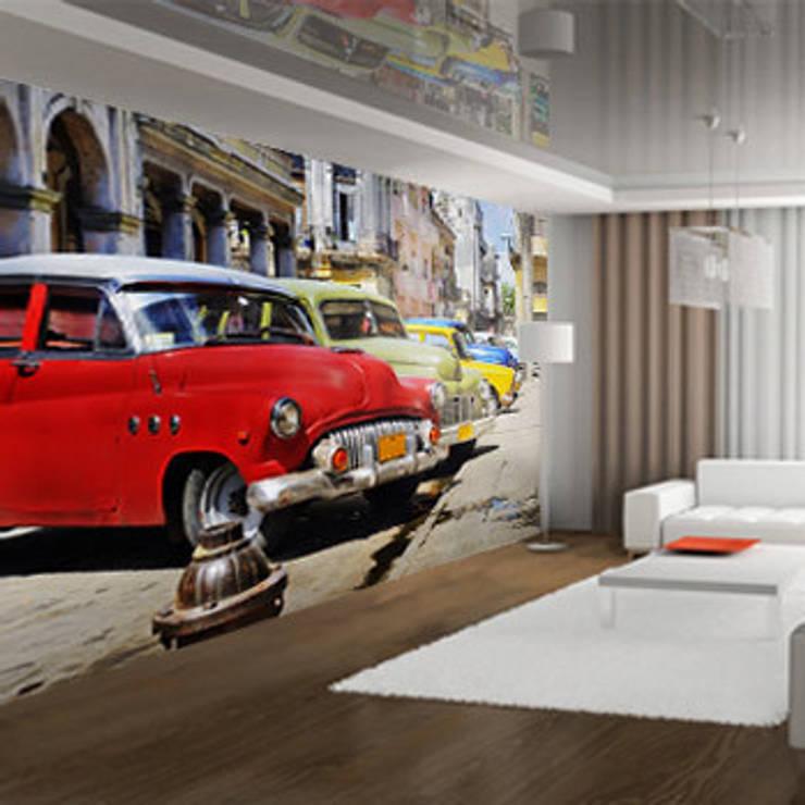 Vlies fotobehang:  Muren & vloeren door Muurmode,