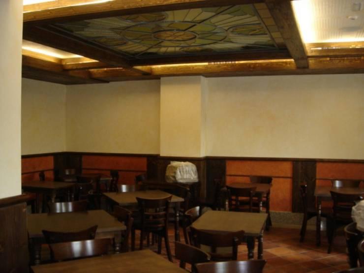 Restaurante <q>Virrey de San Telmo</q>, Madrid:  de estilo  de JARQUE ALONSO ARQUITECTOS