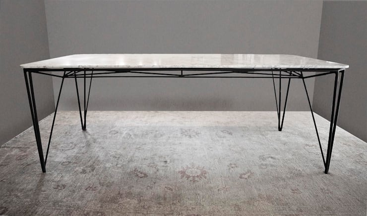 SPIDER TABLE: Comedor de estilo  de BONBA studio