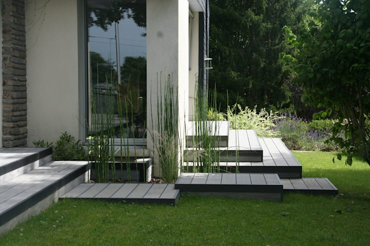 Aménagement D Une Terrasse En Bois Composite Gris By Eurl