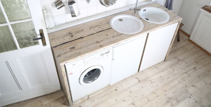 industrial Kitchen by Die MÖBELHAUEREI