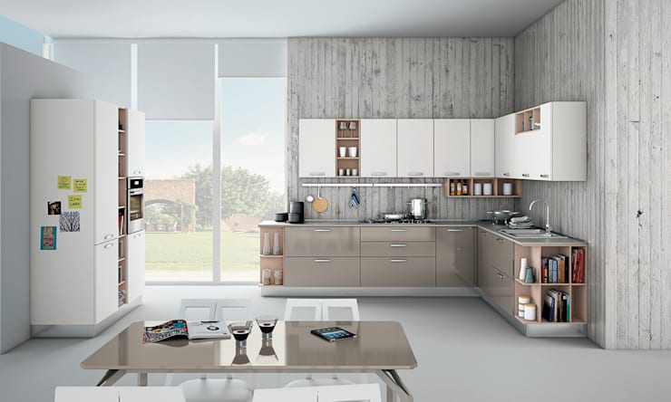 zoe: Cucina in stile  di Creo Kitchens