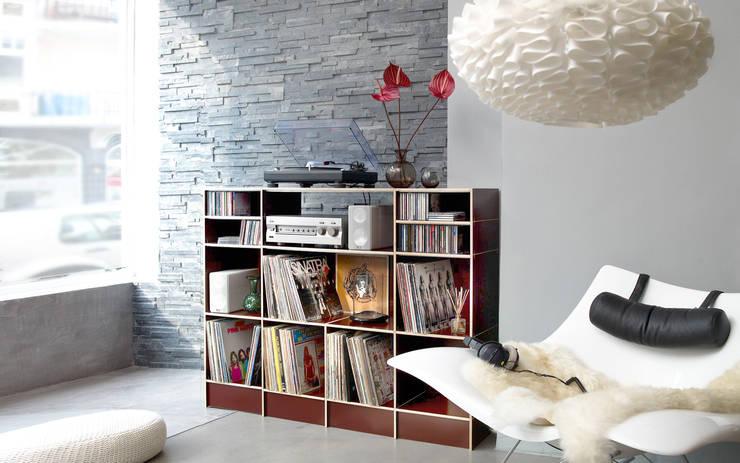 Projekty,  Domowe biuro i gabinet zaprojektowane przez Atelier Havanna
