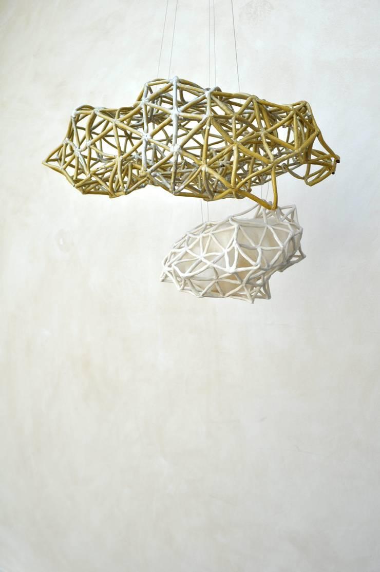 Suspension double Kloud: Art de style  par yfNa Céramique
