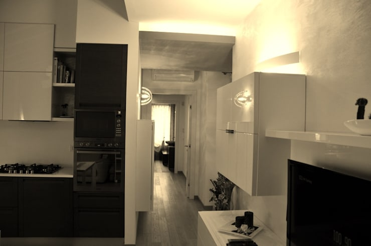 Progetto ed Arredamento di Interni di un Appartamento a Codognè (TV): Case in stile  di Studio di Architettura ed Ingegneria