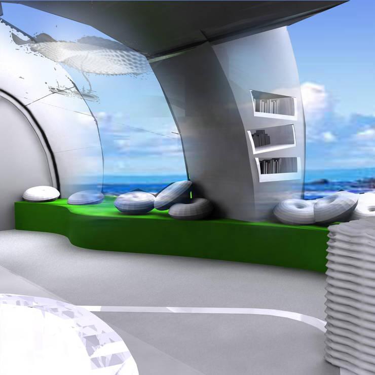 wypoczynki w Personal Heaven: styl , w kategorii Salon zaprojektowany przez izabela jaroszek,Nowoczesny
